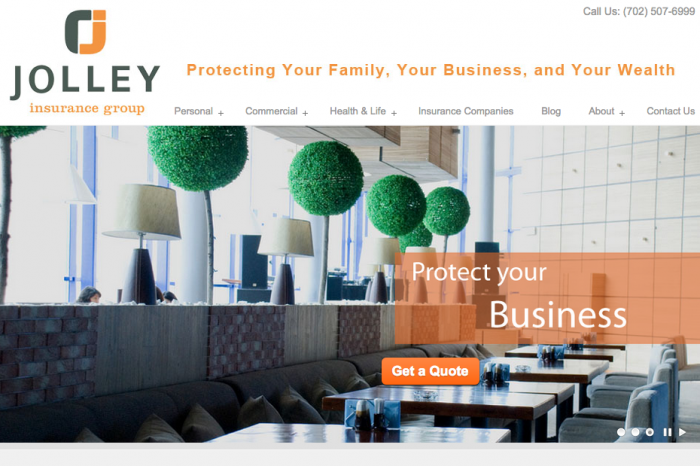 Jolley Insurance Website